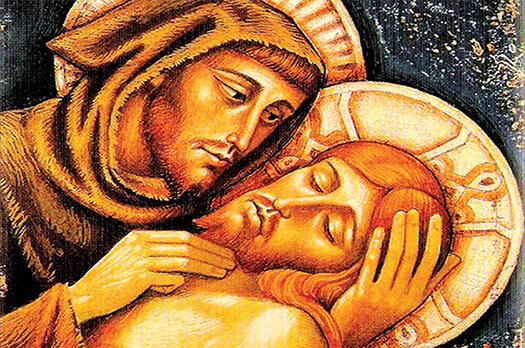 Franciszek z Jezusem